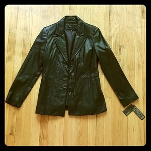 Avanti New York Size Medium Womens Leather Jacket